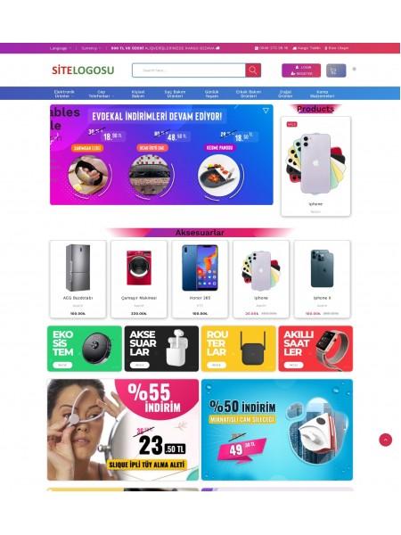 Opencart Alışveriş Teması - Market Teması