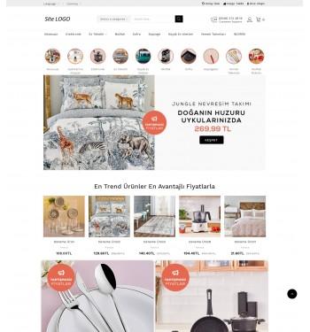 Opencart Züccaciye Teması - Tekstil Teması
