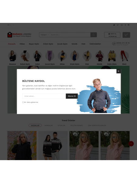 Opencart Fashion Tema